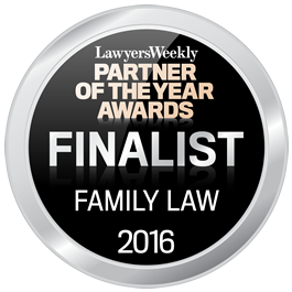 FINALIST - Lawyers Weekly Partner of the Year Awards 2016