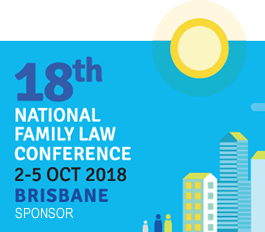 Sponsor Badge - 18th National Family Law Conference