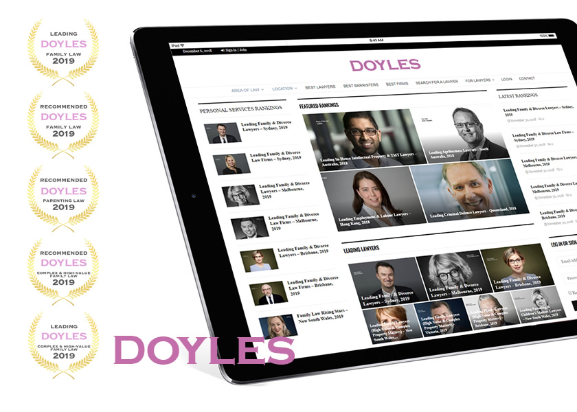 Doyle's Guide - Leading Family Law Firm 2019